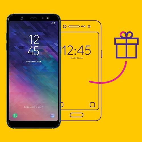 В Связном второй смартфон Samsung в подарок